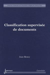Classification supervisée de documents - Jean Beney | Showmesound.org