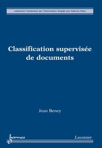 Jean Beney - Classification supervisée de documents.