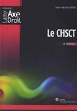 Jean-Benoît Cottin - Le CHSCT.