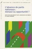 Jean-Benoit Pilet et Jean-Michel De Waele - L'absence de partis nationaux : menace ou opportunité ?.
