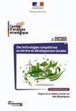 Jean Bergougnoux - Des technologies compétitives au service du développement durable.