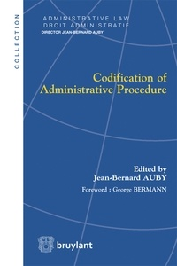 Jean-Bernard Auby - Codification of Administrative Procedure.