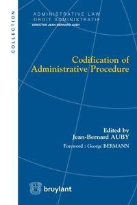 Jean-Bernard Auby - Codification of Administrative Procedure.