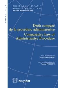 Jean-Bernard Auby - Droit comparé de la procédure administrative.