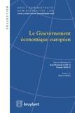 Jean-Bernard Auby et Pascale Idoux - Le gouvernement économique européen.