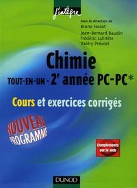 Chimie tout-en-un 2e année PC-PC*- Cours et exercices corrigés - Jean-Bernard Baudin   Showmesound.org