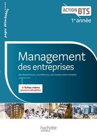 Jean-Bernard Ducrou et Lucie Liversain - Management des entreprises 1re année BTS.