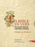 Jean Bescond - La Bible en vers - Une nouvelle approche authentique et poétique. Coffret en 2 volumes.