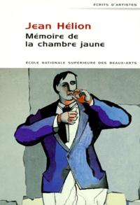 Jean Bichier - Mémoire de la chambre jaune.