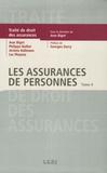 Jean Bigot et Jérôme Kullmann - Traité de Droit des assurances - Tome 4, Les assurances de personnes.