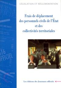 Deedr.fr FRAIS DE DEPLACEMENT DES PERSONNELS CIVILS DE L'ETAT ET DES COLLECTIVITES TERRITORIALES. - Edition 1998 Image