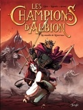 Jean-Blaise Djian et Nathaniel Legendre - Les champions d'Albion Tome 2 : les maudits de Roncevaux.