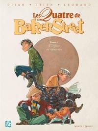 Jean-Blaise Djian et Olivier Legrand - Les Quatre de Baker Street Tome 1 : L'affaire du rideau bleu - 48H BD 2020.