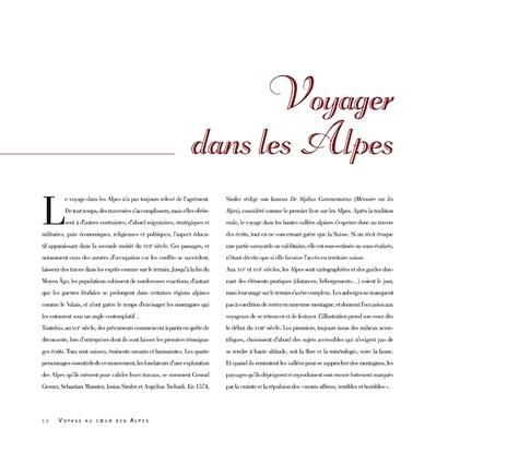 Voyage au coeur des Alpes. Deux siècles de gravures anciennes du Mont Blanc au Cervin