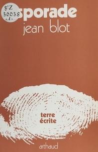 Jean Blot - Sporade.