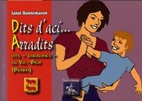 """Jean Bonnemason - Dits d'aci... Arradits - Dits """"enracinés""""."""