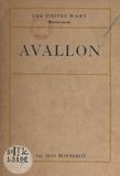 Jean Bonnerot et H. Couron - Avallon.