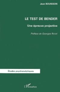 Le test de Bender. Une épreuve projective.pdf