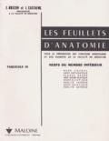 Jean Brizon et Jean Castaing - Les Feuillets d'anatomie - Tome 9, Nerfs du membre inférieur.
