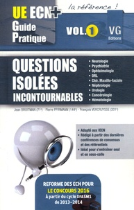 Jean Broitman et Pierre Pfirmann - Questions isolées incontournables - Volume 1.