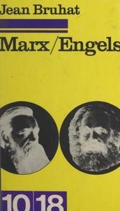 Jean Bruhat et Christian Bourgois - Friedrich Engels - Essai biographique.
