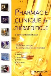 Jean Calop et Samuel Limat - Pharmacie clinique et thérapeutique.