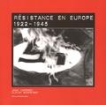 Jean Cardoen et Ulrich Schneider - Résistance en Europe (1922-1945) - Edition français-néerlandais-anglais-allemand.