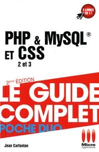 PHP & MySQL et CSS 2 et 3 - Jean Carfantan   Showmesound.org
