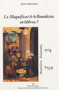 Sennaestube.ch Le Magnificat & le Benedictus en hébreu ? Image
