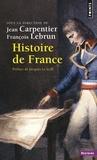 Jean Carpentier et François Lebrun - Histoire de France.