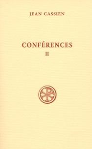 Jean Cassien - Conférences - Tome 2, VIII-XVII, édition bilingue français-latin.