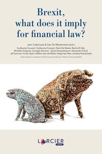 Brexit, what does it imply for financial law? - Jean Cattaruzza pdf epub