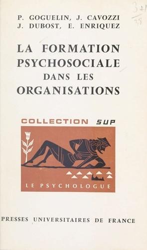 La formation psychosociale dans les organisations
