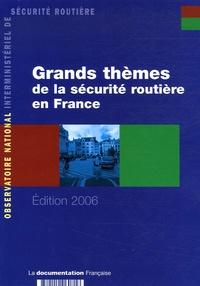 Jean Chapelon et Maryse Lagache - Grands thèmes de la sécurité routière en France en 2004.