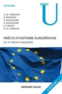 Jean-Charles Asselain et Pierre Delfaud - Précis d'histoire européenne - Du 19e siècle à nos jours.