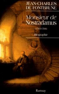 Deedr.fr MONSIEUR DE NOSTRADAMUS. Biographie Image