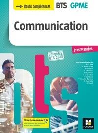 Jean-Charles Diry et Damien Fulchiron - COMMUNICATION - BTS 1&2 GPME - Éd. 2018 - Manuel PDF.