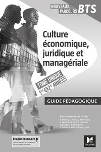 Jean-Charles Diry - Culture économique, juridique et managériale BTS 1er et 2e années Tome unique Nouveaux parcours - Guide pédagogique.