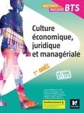 Jean-Charles Diry - Culture économique, juridique et managériale - BTS 1re année - Réforme BTS 2018.