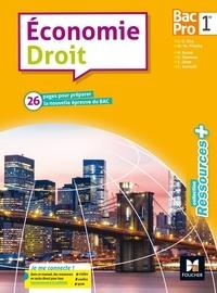 Jean-Charles Diry et Marie-Madeleine Piroche - Economie Droit 1re Bac Pro.