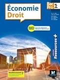 Jean-Charles Diry et Marie-Madeleine Piroche - Economie Droit 1re Bac Pro - Manuel de l'élève.