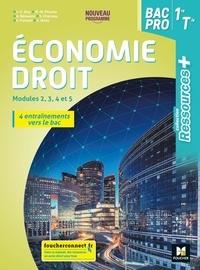 Jean-Charles Diry et Marie-Madeleine Piroche - Economie-droit 1re Tle Bac Pro Ressources +.