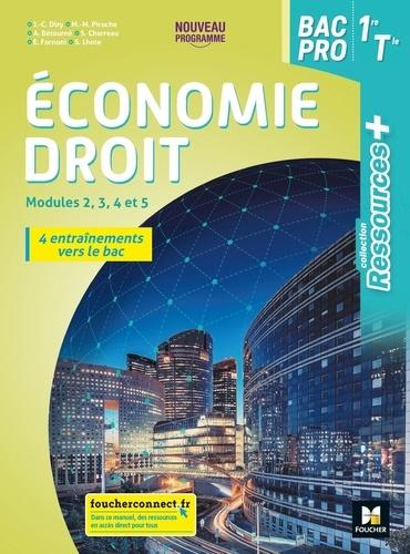 Economie-droit 1re Tle Bac Pro Ressources +  Edition 2020