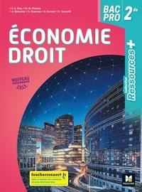 Jean-Charles Diry et Marie-Madeleine Piroche - Economie-Droit 2de Bac pro Ressources +.