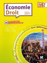 Jean-Charles Diry et Marie-Madeleine Piroche - Economie Droit 2de Bac Pro.