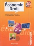Jean-Charles Diry et Stéphane Bujoc - Economie Droit Tle Bac pro.