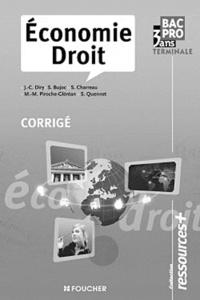 Alixetmika.fr Economie-Droit Tle Bac pro - Corrigé Image