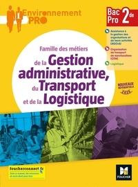 Jean-Charles Diry - Famille des métiers de la Gestion administrative, du Transport et de la Logistique 2de Bac Pro.