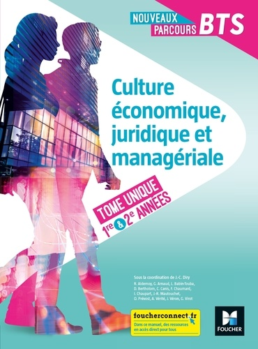 Jean-Charles Diry et Régine Aidemoy - Nouveaux Parcours - CEJM Tome unique BTS 1re et 2e années - Éd 2020 - Manuel FXL.