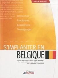 Jean-Charles Hirondel - S'implanter en Belgique.
